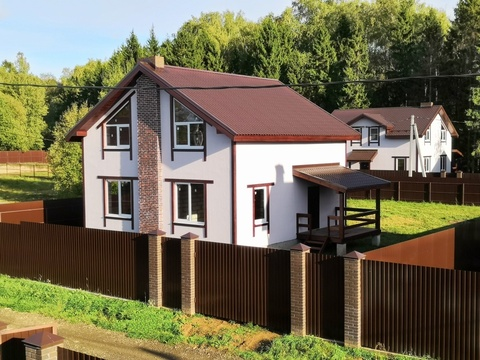 Продаётся новый дом 160 кв.м с участком 9.47 соток-35 км от МКАД - Фото 3