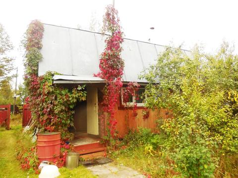 Дом-баня из бревна 75 (кв.м). Земельный участок 6 соток. - Фото 1