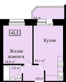 Продам 1 комнат квартиру - Фото 1