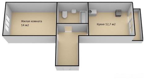 Продам 1-к квартиру, Яблоновский, Майкопская улица 38 - Фото 2