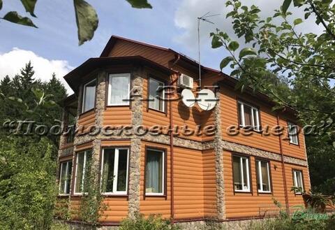 Минское ш. 62 км от МКАД, Мякишево, Коттедж 400 кв. м - Фото 1