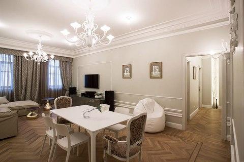 """Роскошная 2х комнатная квартира с кухней гостиной в элитном ЖК """"монфер - Фото 4"""
