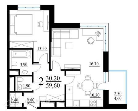 Продажа квартиры, м. Севастопольская, Внутренний проезд - Фото 4