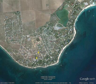 Заозерное, 15 соток, море 800 метров - Фото 2