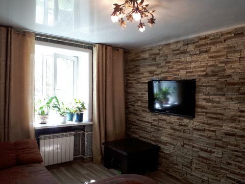 2-кк с ремонтом в кирпичном доме, Купить квартиру в Иркутске по недорогой цене, ID объекта - 322094423 - Фото 1