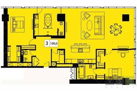 Продается квартира г.Москва, Краснопресненская набережная, Купить квартиру в Москве по недорогой цене, ID объекта - 321895248 - Фото 1