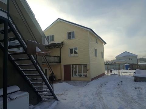 Участок 12,5 соток с 3-х этажным домом в д. Петелино - Фото 4