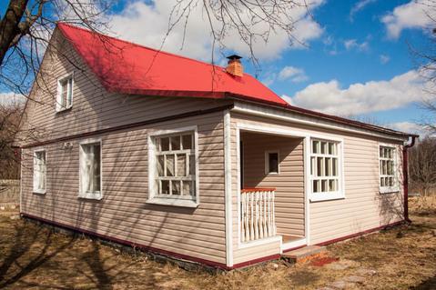 Жилой дом из бруса д. Родионово, рядом с Санино - Фото 1