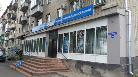 Офисное помещение 140 кв.м. перекрестке Мира и Горького - Фото 1