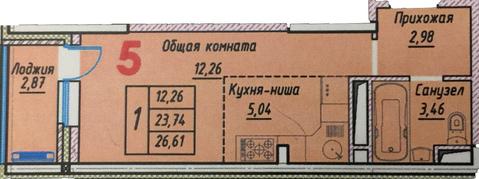 Продажа квартиры - Студии - Фото 2