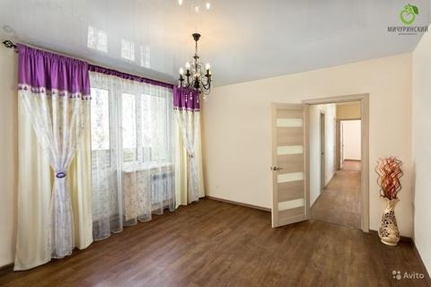 Двухкомнатная квартира с ремонтом в ЖК Мичуринский - Фото 1