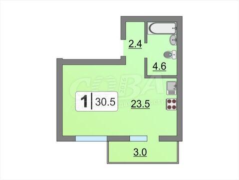 Продажа квартиры, Тюмень, Василия Подшибякина - Фото 1