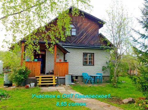 Дом 100 м/кв на участке 11 сот. в Павловске. СНТ павловское1 - Фото 3