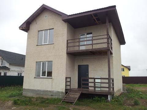 Продается новый дом 168м2 на 9сот с. Малышево, Раменский район - Фото 1