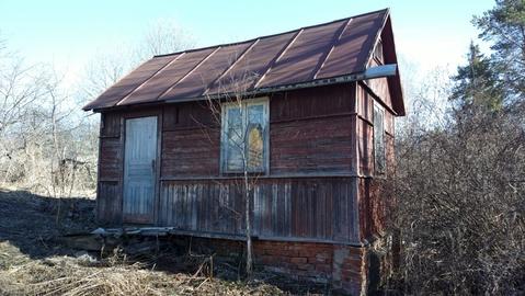 Дачный участок 7 соток, с маленьким домиком, в ртс, на берегу пруда - Фото 5