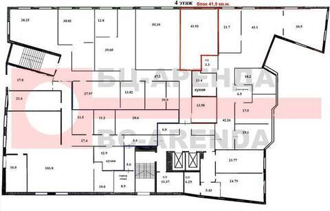 """Офис 41,9 кв.м. в аренду БЦ """"Кристалл Плаза"""" - Фото 5"""