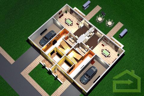 Квартира 124 квм с тремя спальнями в ЖК Прилесье - Фото 4