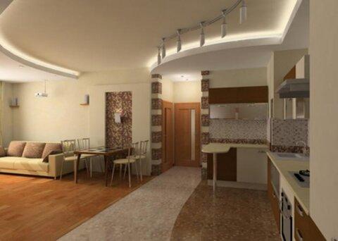 Трёхкомнатная квартира в Сочи - Фото 1