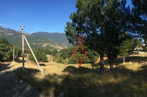 Участок 4.1 сот. в Ялте с видом на горы, на границе с заповедником - Фото 2