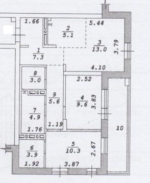 Продажа квартиры, Новосибирск, Ул. Большевистская, Купить квартиру в Новосибирске по недорогой цене, ID объекта - 321433379 - Фото 1