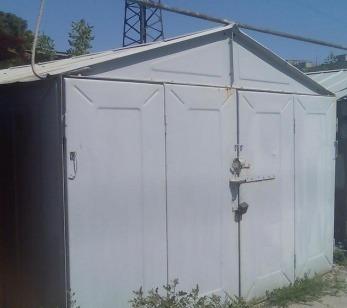 Сдам гараж металлический, можно под склад, м.Рыбацкое-10м/пешком.