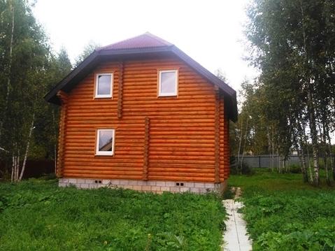 Бревенчатый дом в СНТ вбл. п. Беляная Гора, Рузский городской округ - Фото 3