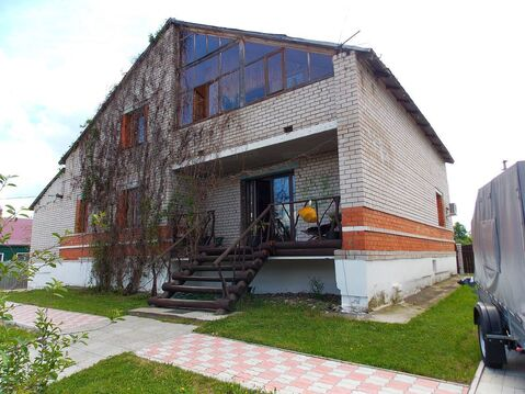 Добротный кирпичный коттедж в дер. Дунилово Ивановской области - Фото 1