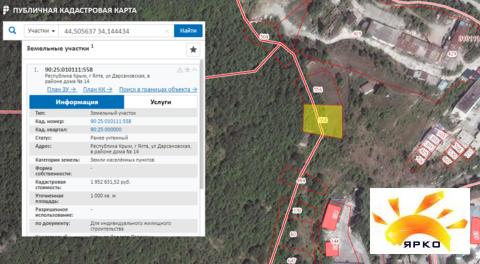 Продажа земельного участка 20 соток в Ялте по хорошей цене. - Фото 3