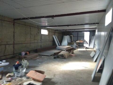Производственное помещение 120 кв.м, отдельная огороженная территория - Фото 2