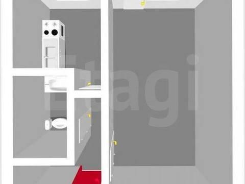 Продажа однокомнатной квартиры на проспекте Ленина, 20 в Стерлитамаке, Купить квартиру в Стерлитамаке по недорогой цене, ID объекта - 320177812 - Фото 1