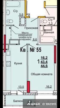 Продаю1комнатнуюквартиру, Тула, улица Костычева, 26а, Купить квартиру в Туле по недорогой цене, ID объекта - 321826251 - Фото 1