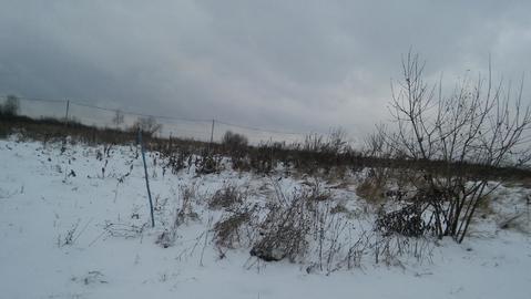 Алферово д, Чеховский район 60 км от МКАД, участок 25 соток - Фото 1