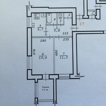 Сдам двухкомнатную, изолированную в кирпичном доме 4 эт. по ул. Б/Хмел, Аренда квартир в Новосибирске, ID объекта - 325418902 - Фото 1