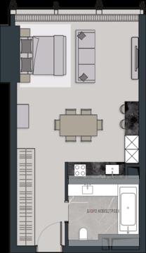 Апартаменты В небоскребе! - Фото 1