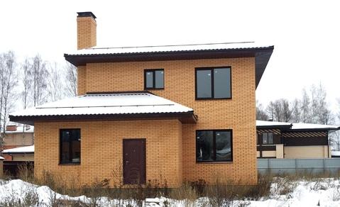 Загородный дом ИЖС 214 кв.м на 10 сотках в элитном охраняемом поселке - Фото 1
