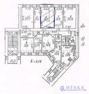 Продажа комнаты, м. Площадь Восстания, 8-я Советская ул - Фото 2