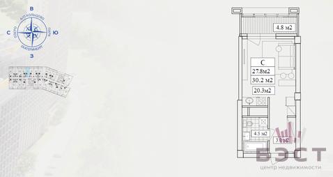 Квартиры, ЖК Светлый, мкр. Светлый, д.5 - Фото 1