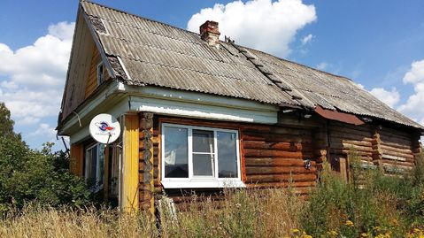 Бревенчатый дом с на участке 19,5 соток в селе Церковное - Фото 1