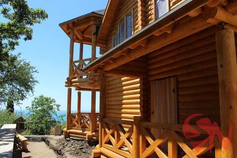 Предлагаю купить качественный дом-сруб в Алупке с потрясающим видо - Фото 1