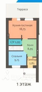 Продажа таунхауса, Казань, Улица 2-я Центральная - Фото 2