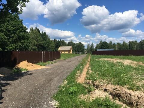 Продам участок 9 соток в свежем поселке трубинолэнд,12км от МКАД - Фото 5