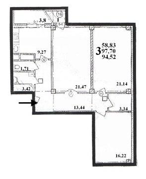 Продажа 3-к квартиры в новостройке - Фото 5