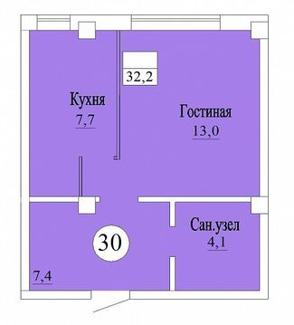 Продажа квартиры, Яблоновский, Тахтамукайский район, Ул. Западная, Купить квартиру Яблоновский, Тахтамукайский район по недорогой цене, ID объекта - 322348338 - Фото 1