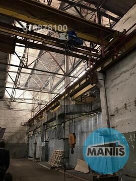 Сдается неотапливаемый склад потолки 12 метров, две кранбалки одна 5 т - Фото 1