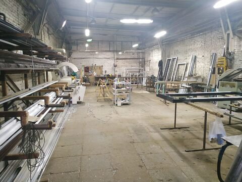 Производство/склад 250 кв.м, кран балка - Фото 1