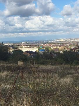 Земельный участок с видом на море в пригороде Анапы - Фото 1