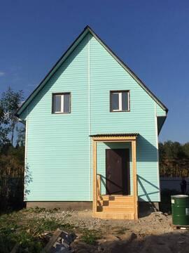 Купить дом из пеноблоков в Наро-Фоминском районе с. Атепцево - Фото 1
