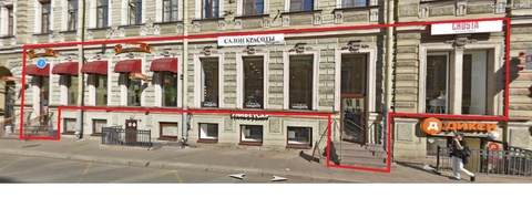 Торговое помещение 380 кв.м. ул. Садовая, д. 8 - Фото 2