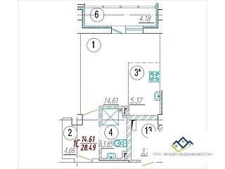 Продам 1-комнатную квартиру Орджаникидзе д 62 12 эт - Фото 3