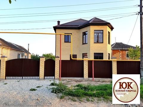Анапа шикарный кирпичный дом 140 м2 на участке 4 сотки - Фото 1